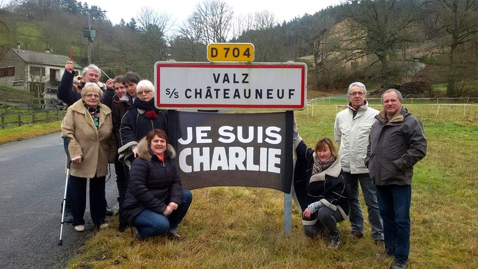 Je suis Charlie Valz